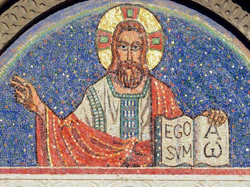 Kirchenmosaik
