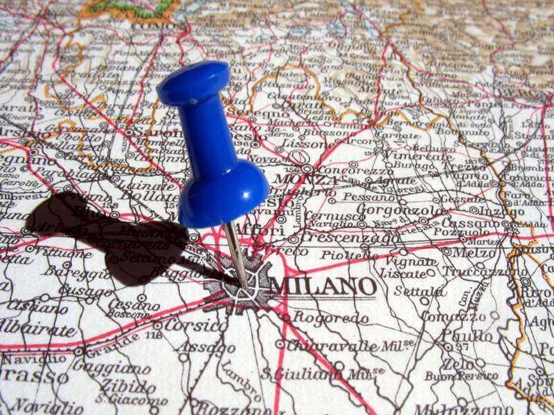 Mailand Karte