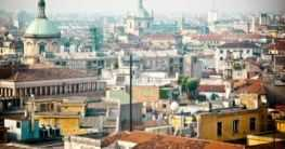 Mailand von oben